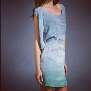 Anthropologie Gypsy 05 Silk Ombre Dress